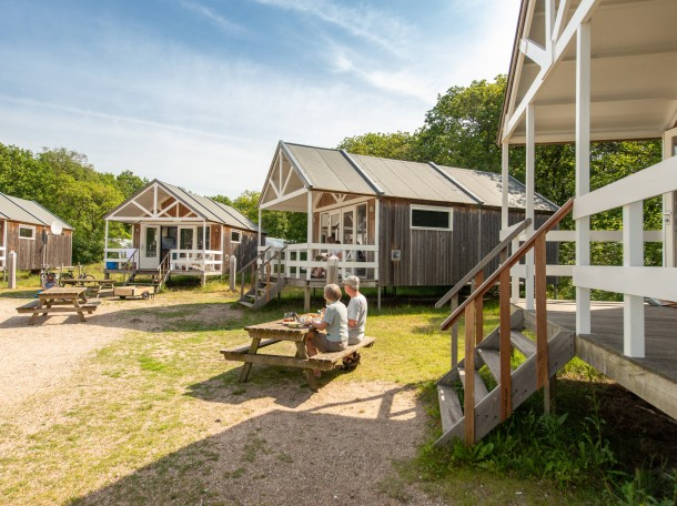 beachhoue beachhouses cabin woodcabin dunes camping geversduin holland