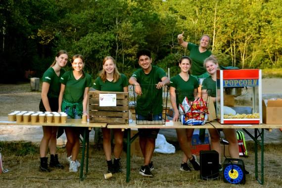 Recreation team popcorn limonade Geversduin