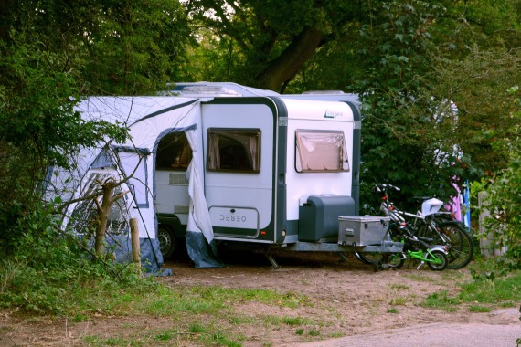 Caravan bicycles Pitch tent