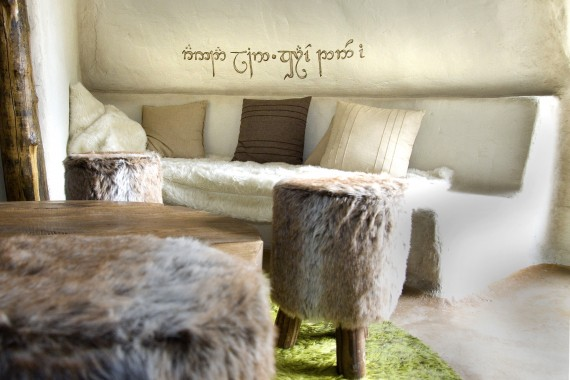 Hobbithouse livingroom