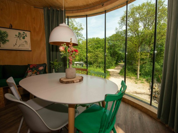 treehouse camping geversduin cabin holland inside