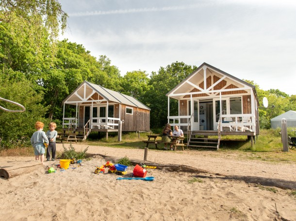 beachhouse beachhouses cabin camping gevrsduin holland