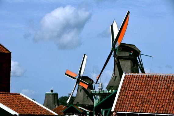 zaanse schans mills north holland