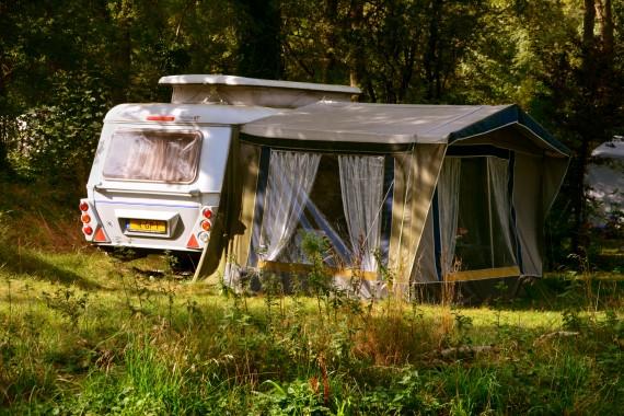 caravan tent campsite Campign Geversduin Holland