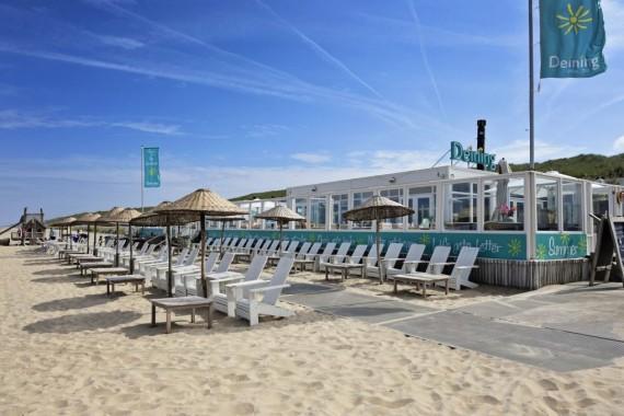 beach restaurant deining holland