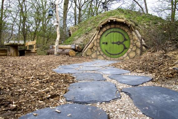 Hobbithouse entrance