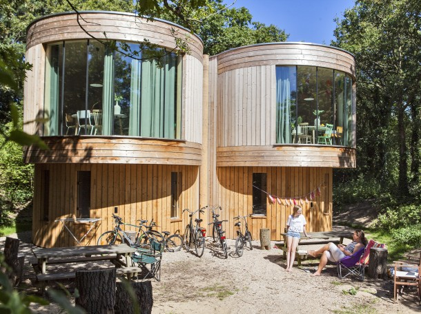 treehouses Campign Geversduin