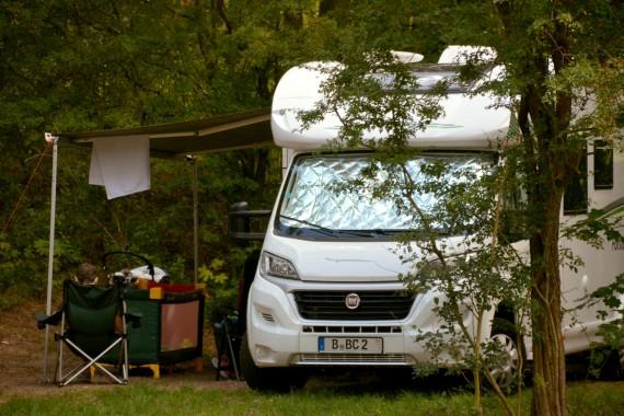 Fiat camper camping geversduin holland