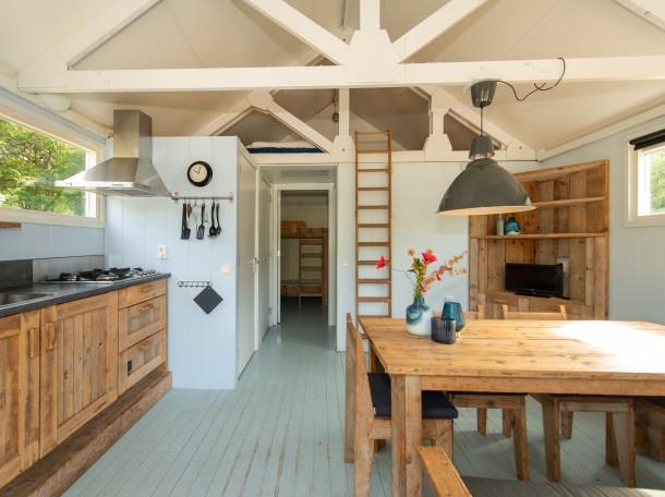 beachhouse cabin decoration accomendation camping gevrsduin holland